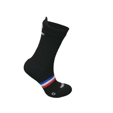 Chaussettes de cyclisme Noire Unie