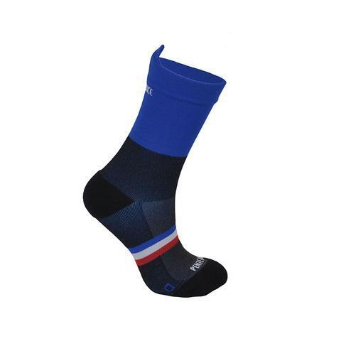 Chaussettes de cyclisme Noir et Bleu