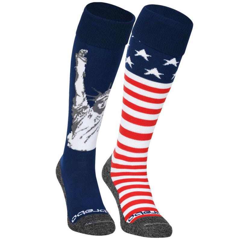 Brabo Socks 2-Pack USA (Mix&Match)