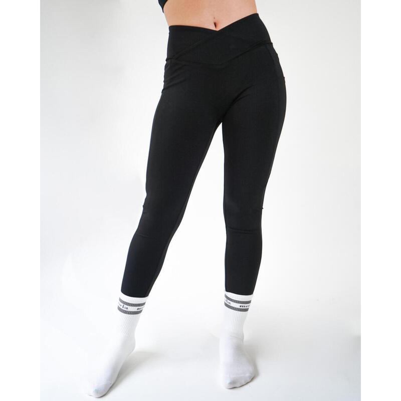 塑型雙褲袋運動緊身褲