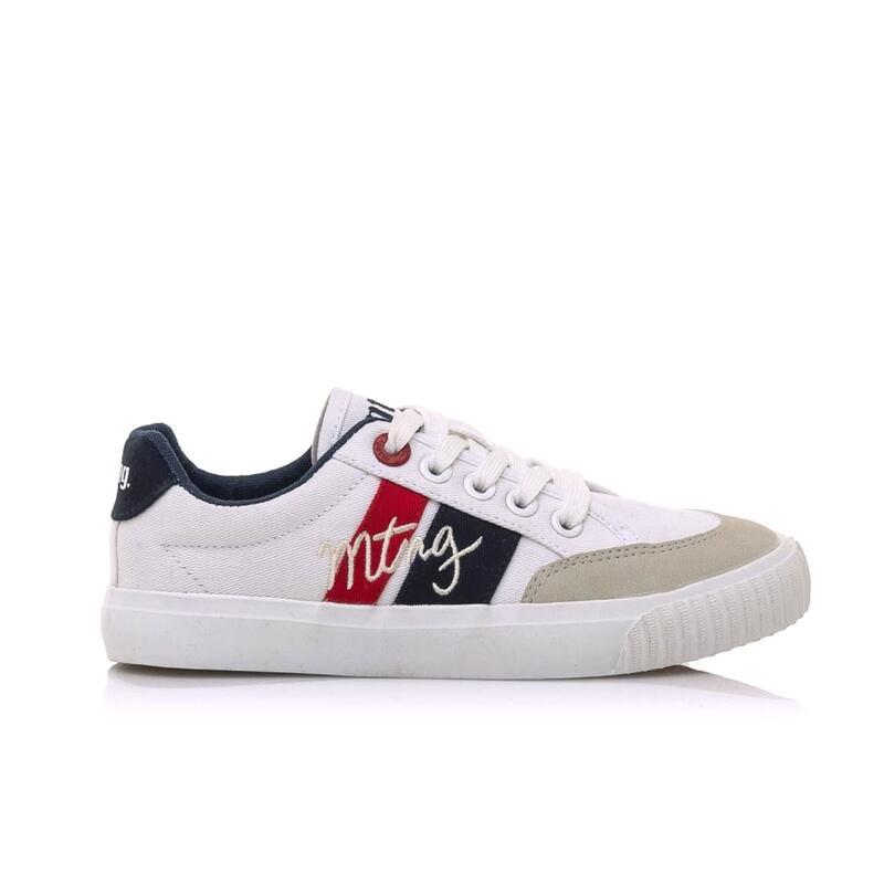 Sneaker Niño MTNG TOM blanco