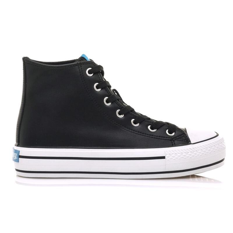 Sneaker Mujer MTNG BIGGER-X negro
