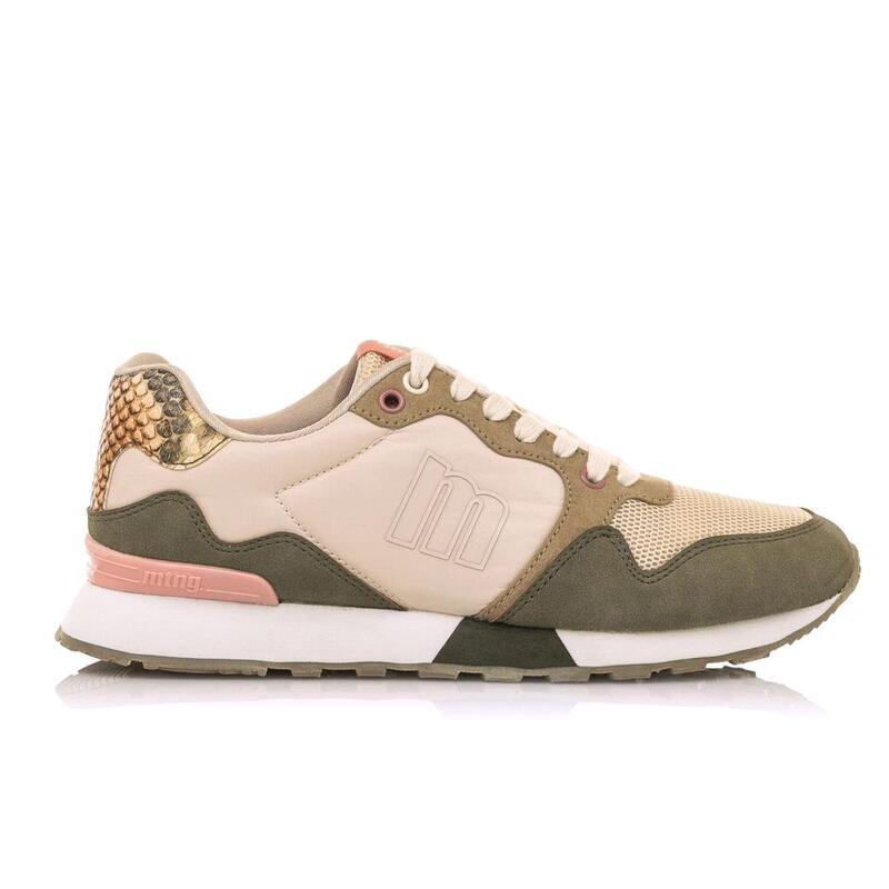 Sneaker Mujer MTNG LEO kaki