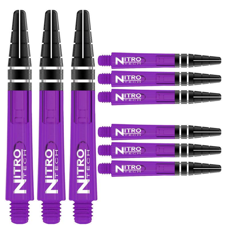 Red Dragon Nitrotech Short Stems - Purple - 3 sets per pack