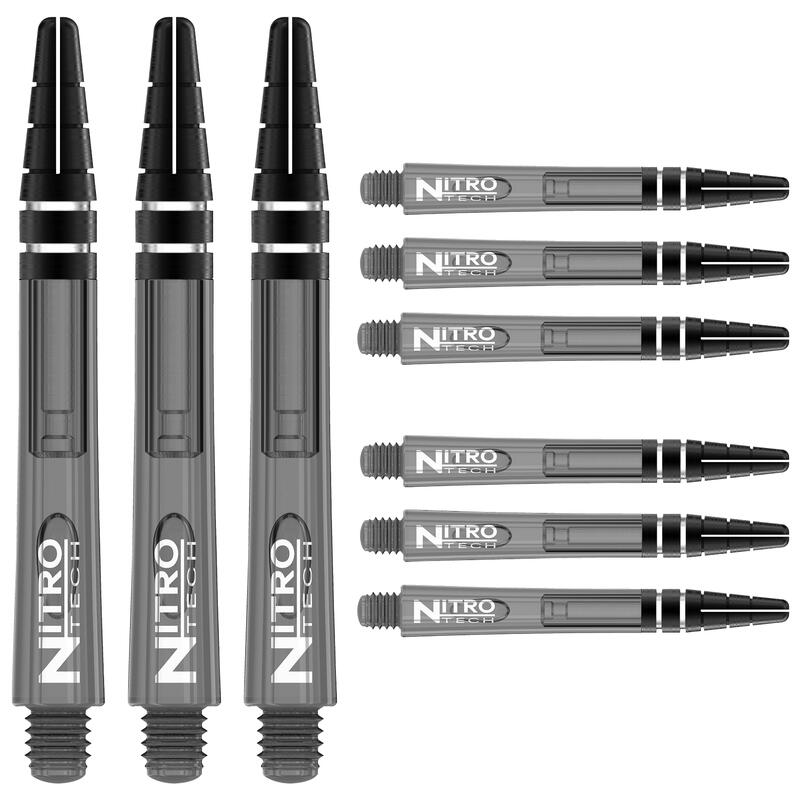 Red Dragon Nitrotech Short Stems - Black Tint - 3 sets per pack