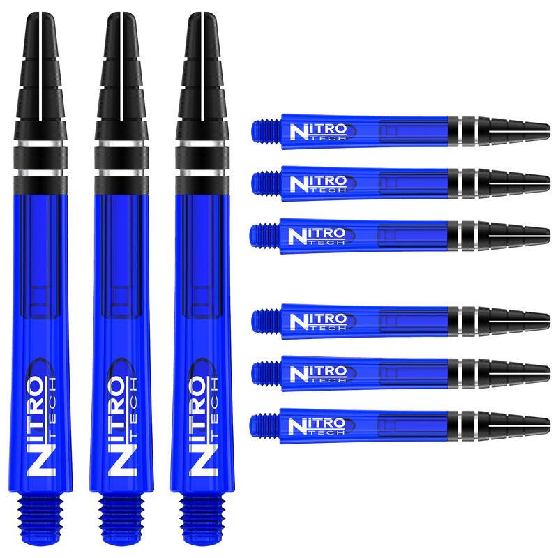 Red Dragon Nitrotech Short Stems - Blue - 3 sets per pack