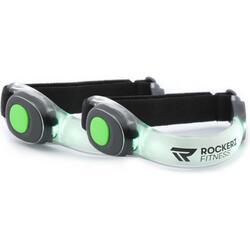 Feux de course - Feux de course - LED - Vert - Pour le tour de bras