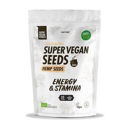 Super Vegan Seeds Sementes de cânhamo