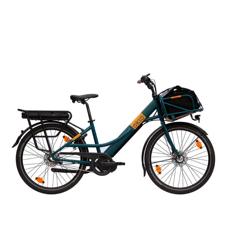 Missive : vélo porteur électrique, 7 vitesses + sacoche avant