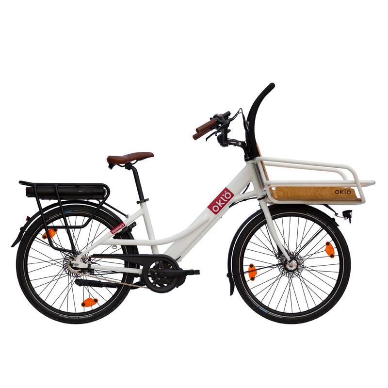 Familéö : vélo cargo compact électrique, 7 vitesses