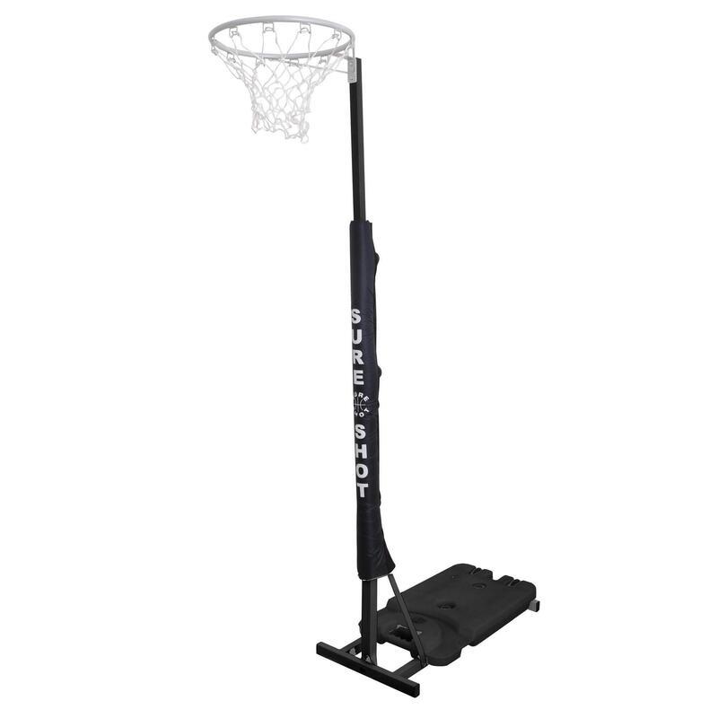 Sure Shot Easiplay Netball Hoop in Black