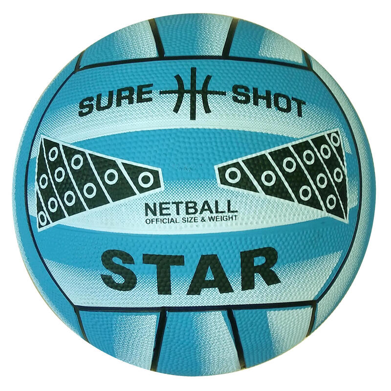 Sure Shot Star Netball size 5 in Blue