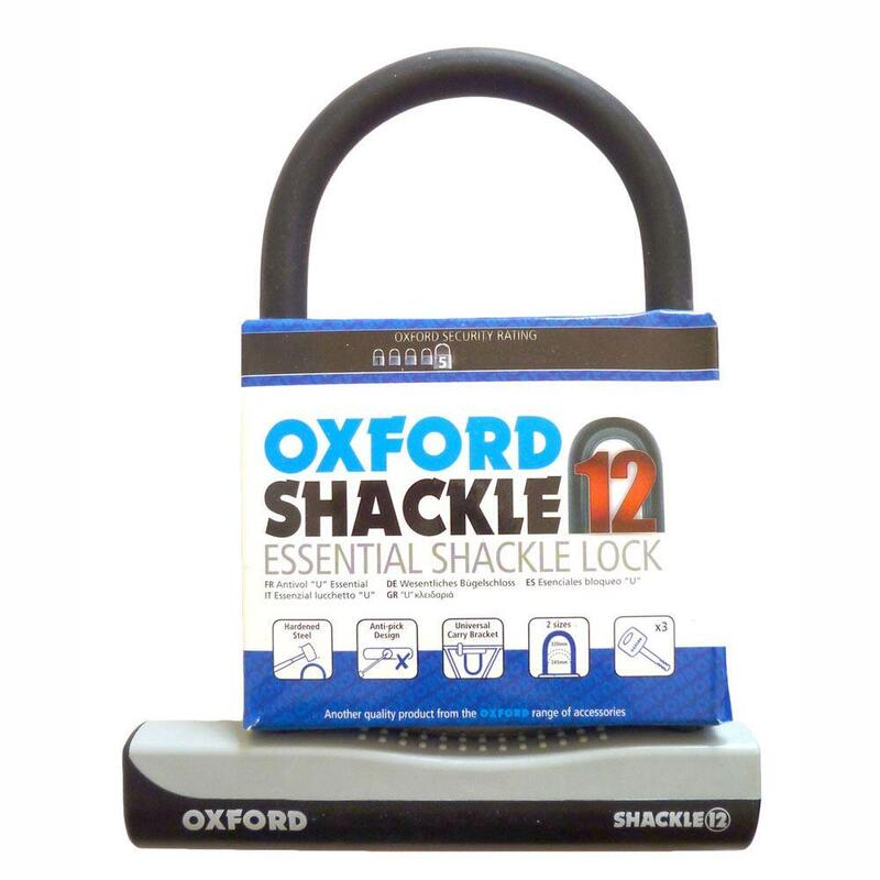 Oxford D Lock Shackle 12 - 245mm