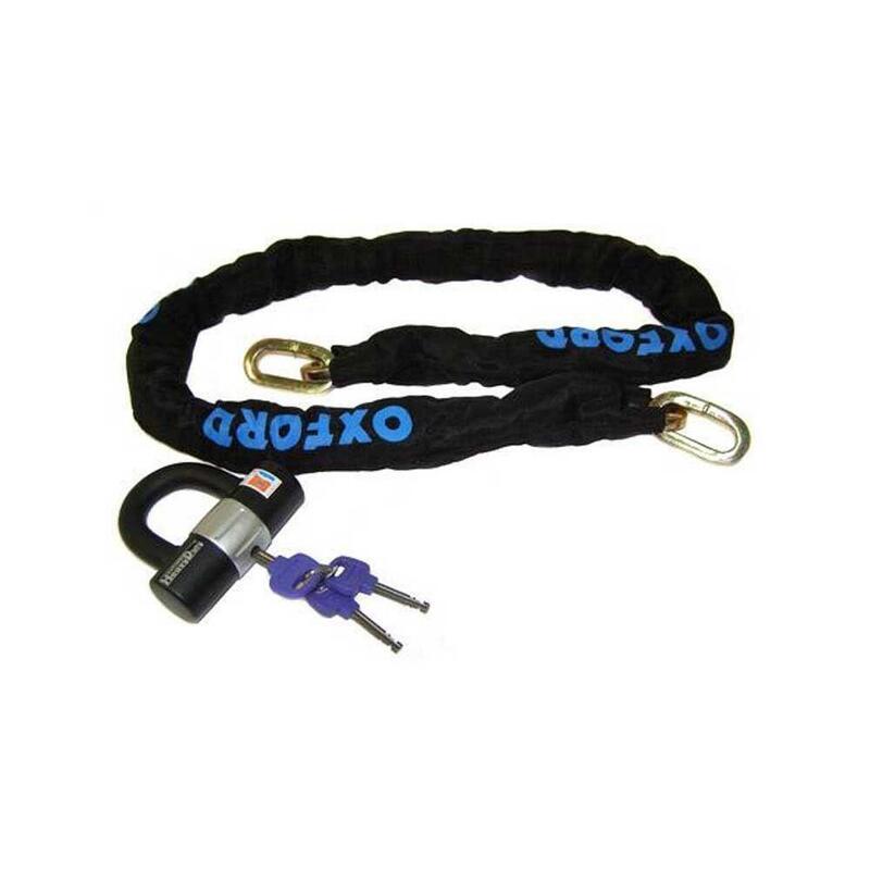 Oxford LK144 Lock and Chain - 140cm x 1cm