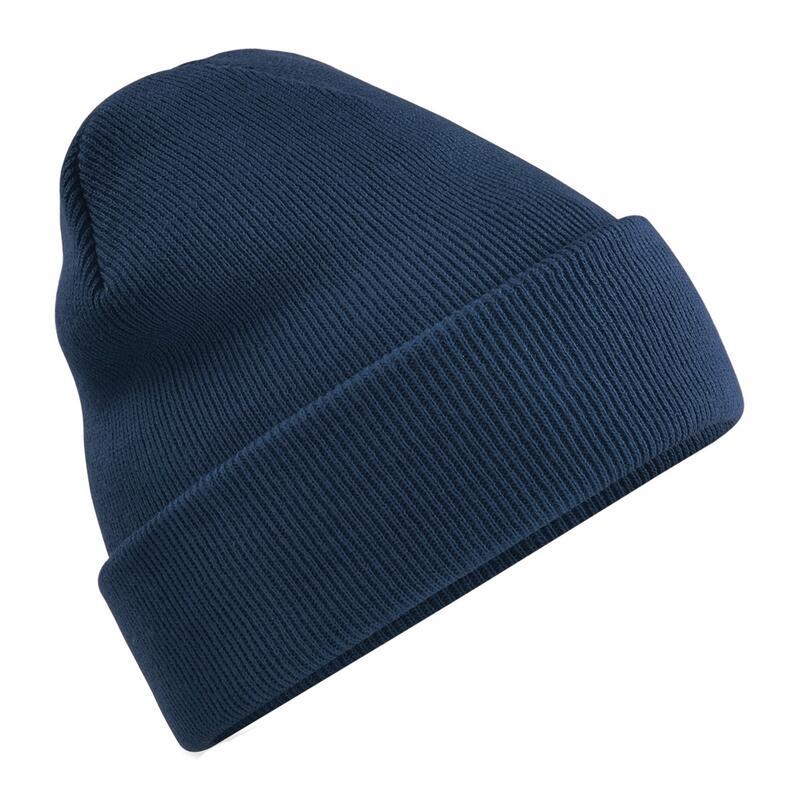 chapeau d'hiver lisse adulte sport blue navy