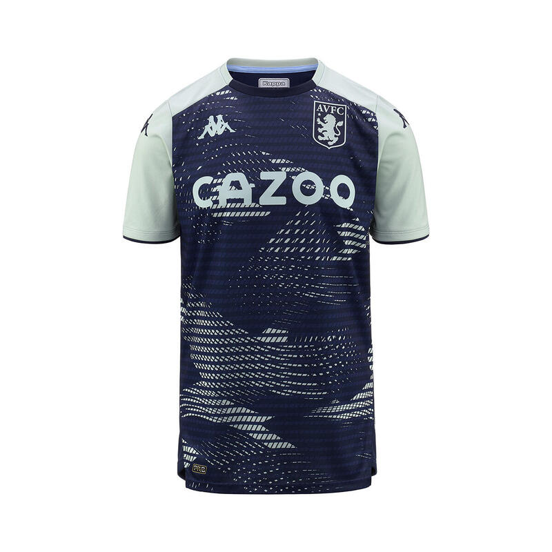 Maillot training Aston Villa FC 2021/22 aboupre pro 5