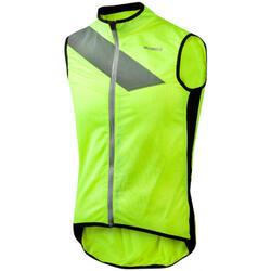 fietsjack Raceviz Paterberg textiel/PU geel maat M