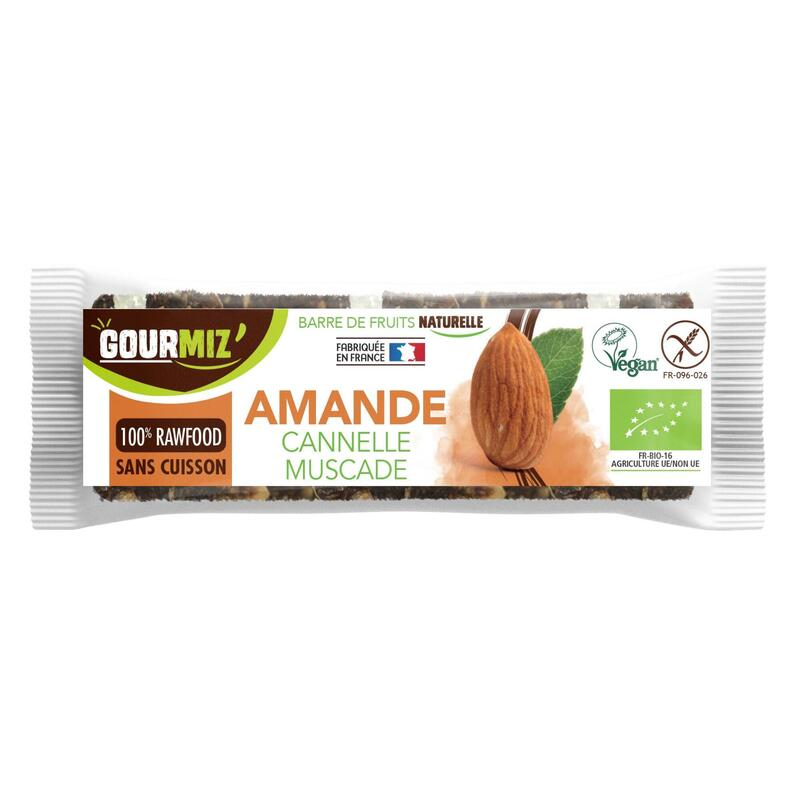 Barres amande - cannelle - muscade x20