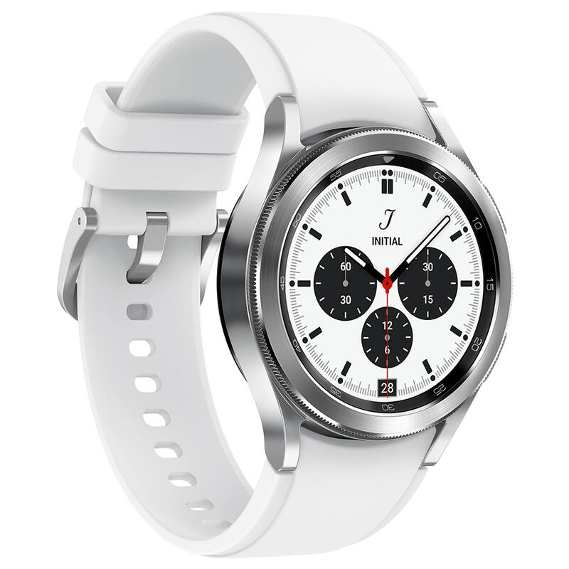 Reloj inteligente Samsung Galaxy Watch4 Classic 42mm BT Plateado