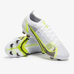 Nike Mercurial Vapor 14 Elite FG FOOTBALL BOOT - White / Metal Silver