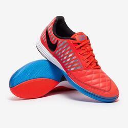Nike Lunar Gato II IC FOOTBALL BOOT - Crimson Red / Photo Blue