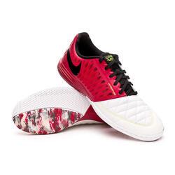 Nike Lunar Gato II IC FOOTBALL BOOT - Cardinal Red / White