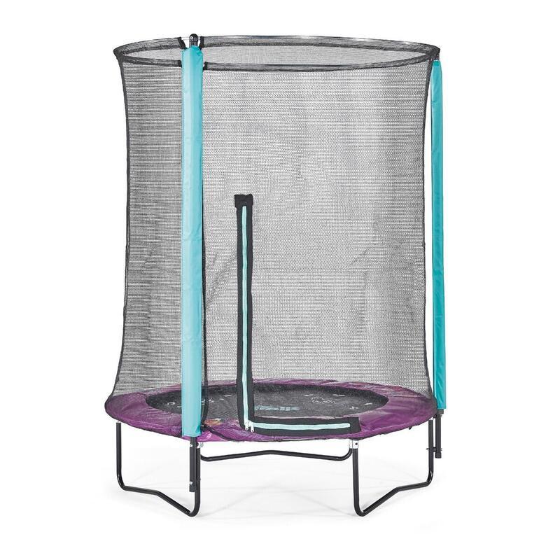 Plum® Trolls 4.5ft Junior Trampoline & Enclosure