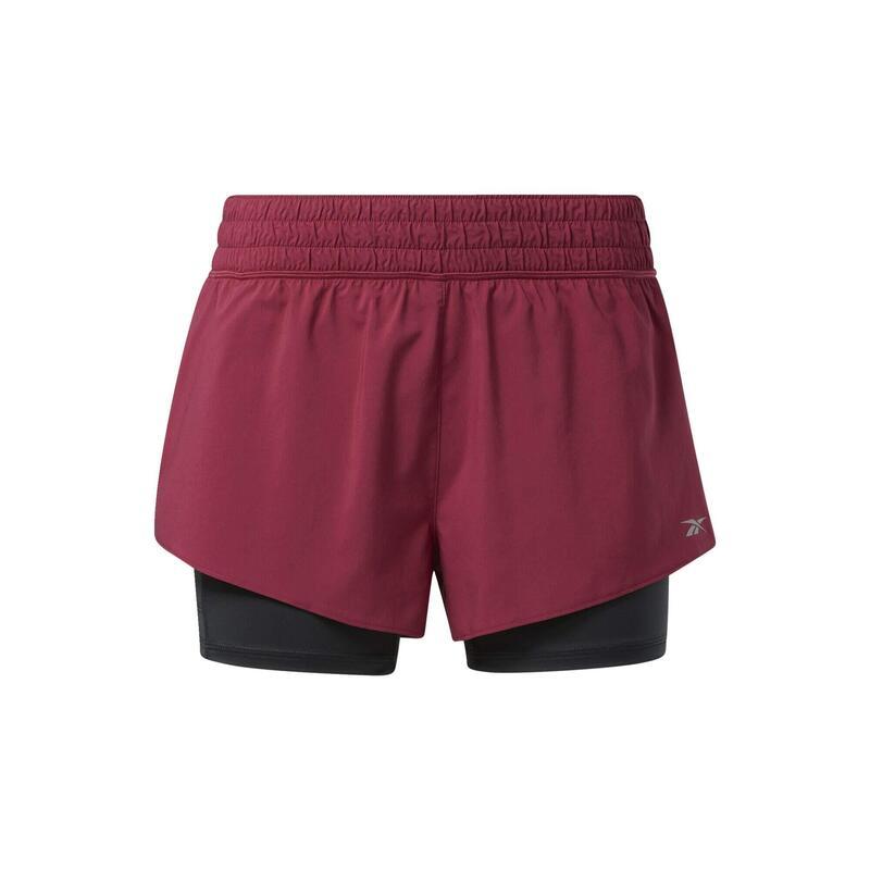 Pantalón corto Running 2 en 1