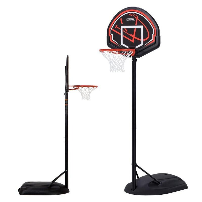 Canasta baloncesto ultrarresistente LIFETIME Altura regulable 168/229 cm UV100