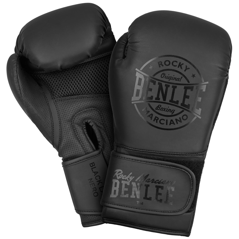 Gants Homme BENLEE Rocky Marciano Black Label Nero Boxe