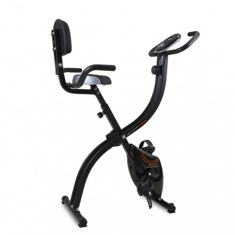Bicicleta estática EVO B1500 YF1500 plegable con respaldo