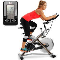 MKT JET BIKE PRO Indoor Bike - Vliegwiel 22kg - Poly-V aandrijving - H9162RF