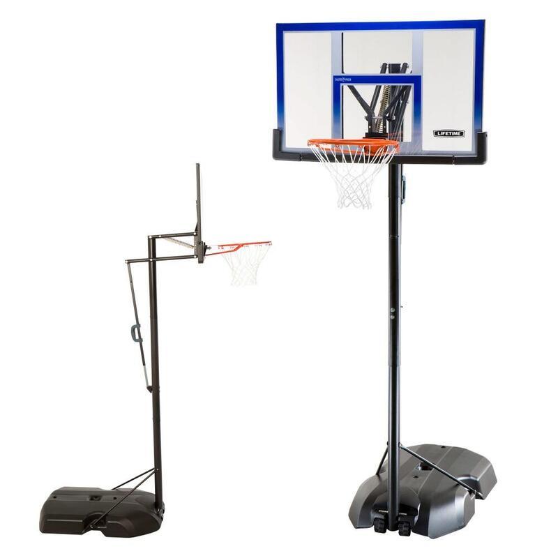 Canasta baloncesto ultrarresistente LIFETIME altura regulable 244/305 cm UV100