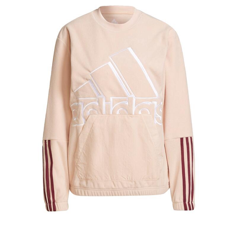 Sweat-shirt Brand Love Giant Logo Polar Fleece