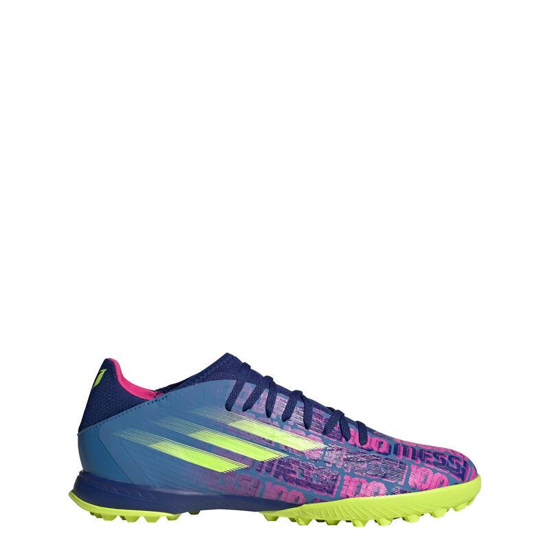 Zapatilla de fútbol X Speedflow Messi.3 moqueta