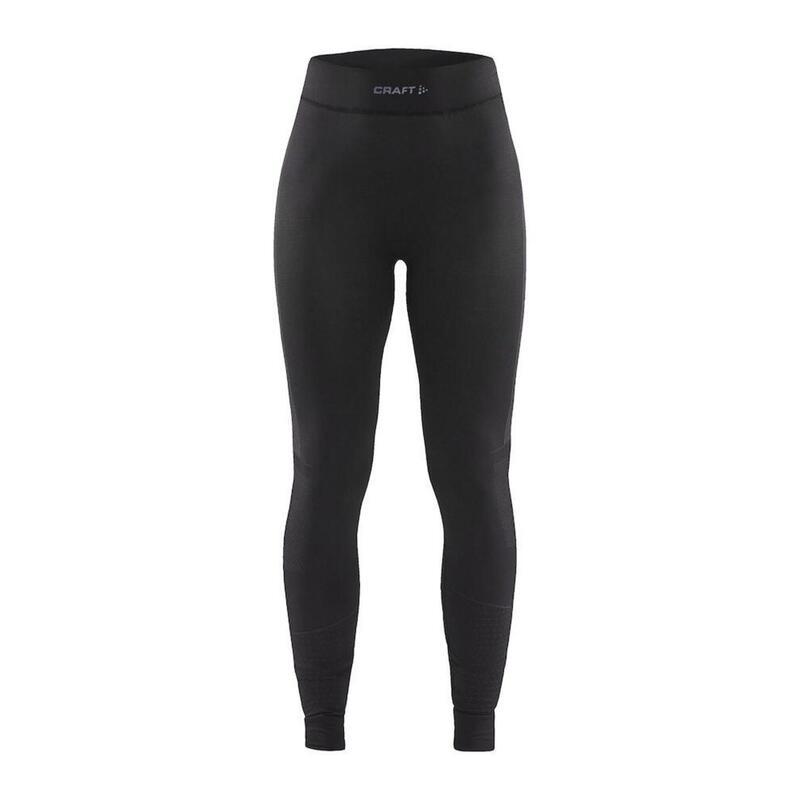 Active Intensity Baselayer Pants Women Black Asphalt