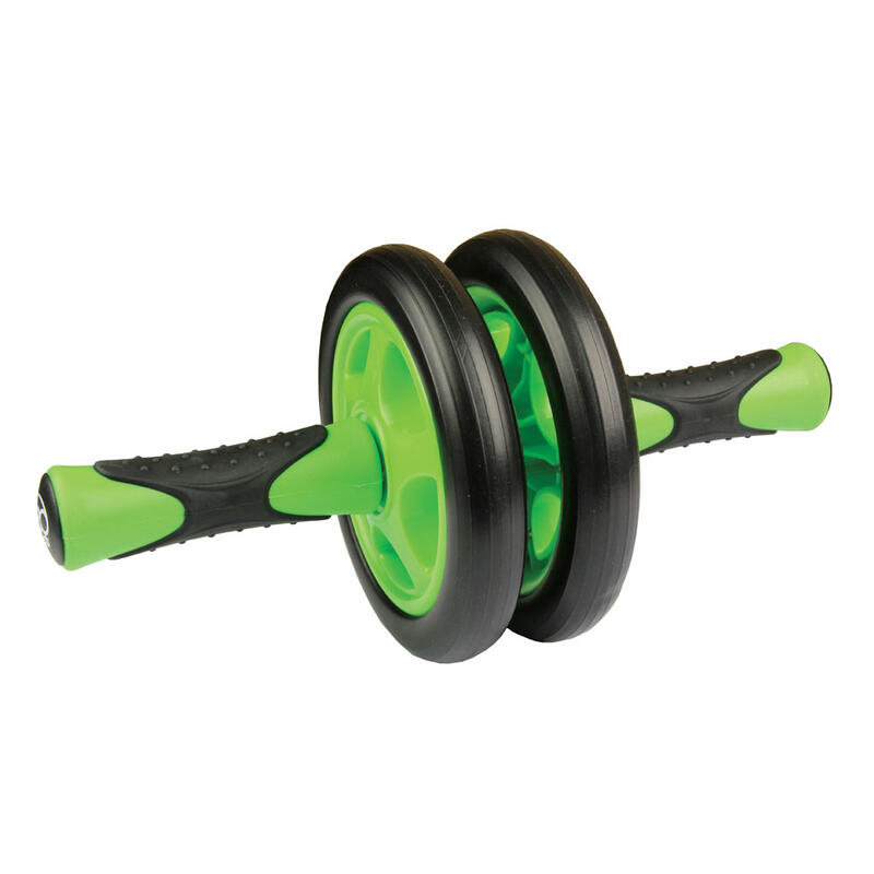 Fitness Mad Duo Ab Wheel Black/Green