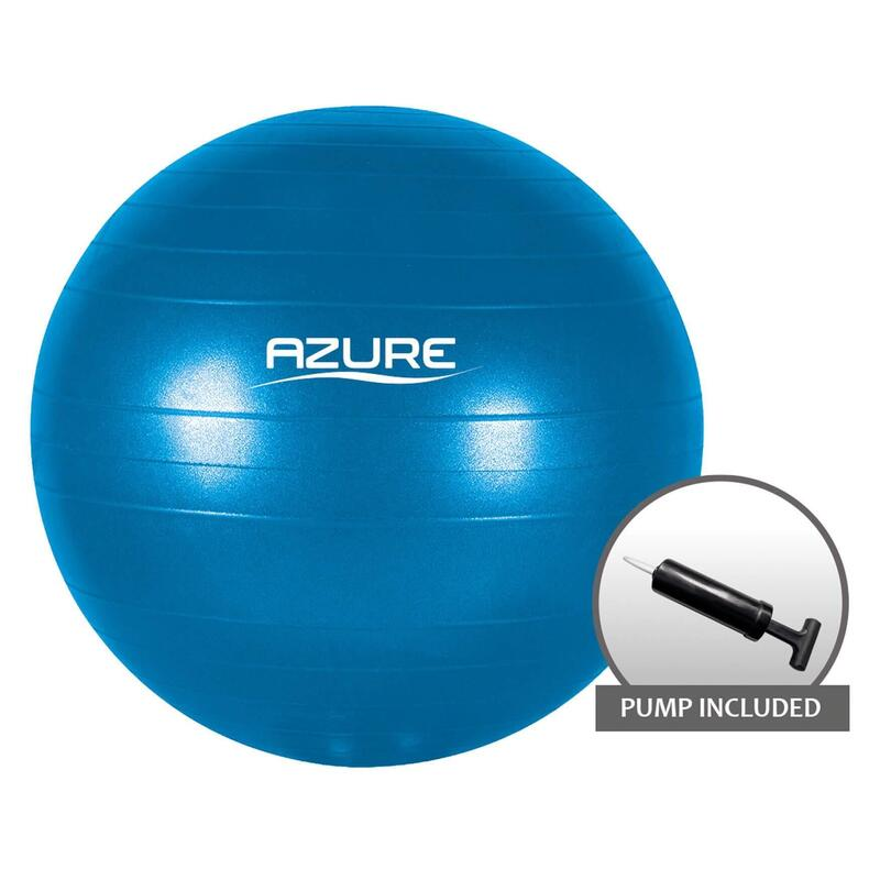 Azure Body Toning Gym Ball with Pump
