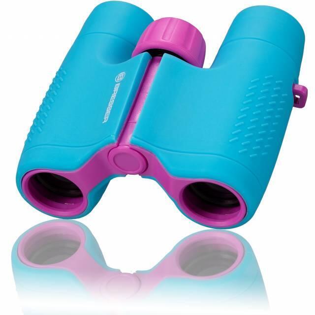 Prismáticos para Niños azul para aventuras y observar animales 6x21 JUNIOR