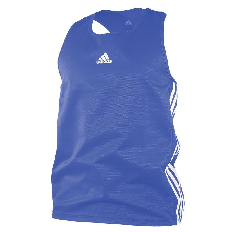 adidas débardeur Boxe homme polyester bleu taille XS