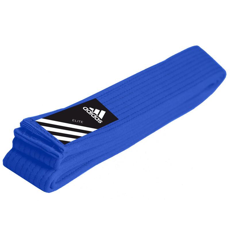 adidas Judoband Elite 45 mm Blauw 280cm