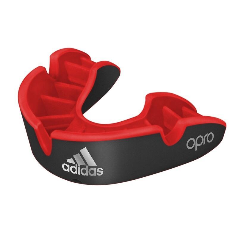adidas gebitsbeschermer OPRO Gen4 Silver-Edition Zwart Junior
