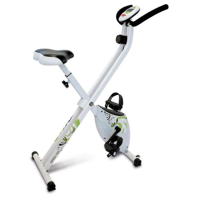 Vélo d'appartement pliable. OPEN&GO YF90 Magnetique Inertie equivalente à 8 Kg