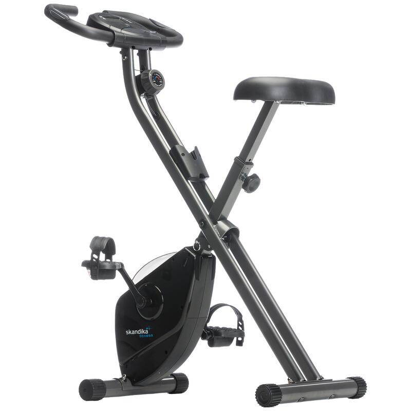 Foldaway X-1000 - vélo d'appartement - 8 niveaux de résistance - Noir