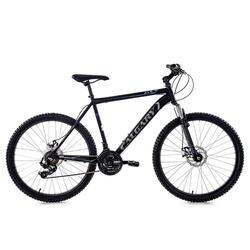 VTT semi-rigide 26'' Calgary 21vitesses noir-gris TC51cm KSCycling