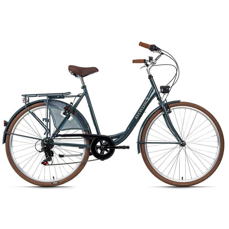 """Vélo de ville dame 28"""" City-Six TC 54 cm KS Cycling"""
