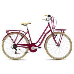 Vélo de ville dame 28'' Swan 6 vitesses TC 48 cm KS Cycling