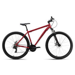 VTT semi-rigide 29'' aluminium CCL303 rouge TC 51 cm KS Cycling