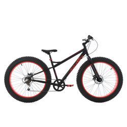 Fatbike 26'' SNW2458 zwart TC43cm KSCycling