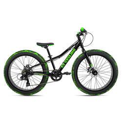 Fatbike 24'' jeugfiets Crusher Cadre aluminium KS Cycling